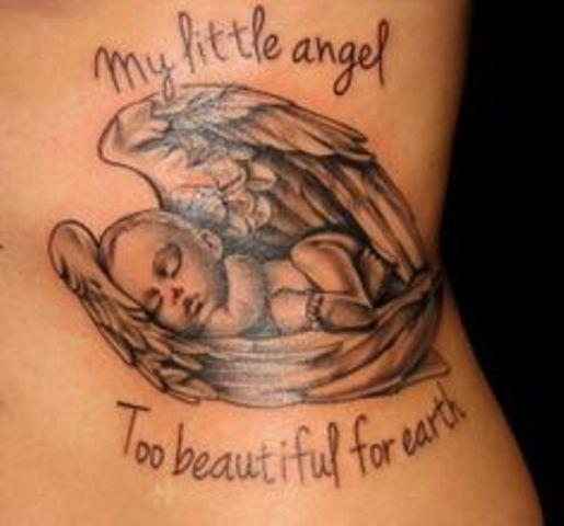 angeles bebes para mujeres 4 1 - tatuajes de ángeles