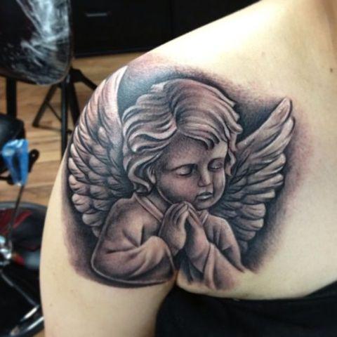 angeles y alas 3 - tatuajes de ángeles