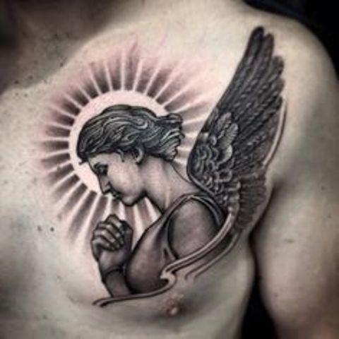 d34c18e5cc1e93fd39ed33d7a4d592fd - tatuajes de ángeles