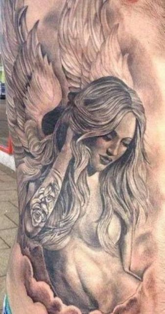 imagenes de angeles 1 - tatuajes de ángeles