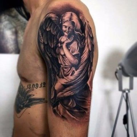 imagenes de angeles 3 - tatuajes de ángeles
