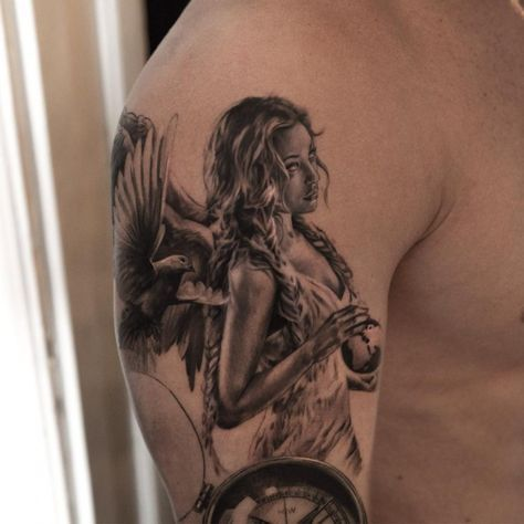 imagenes de angeles 4 - tatuajes de ángeles
