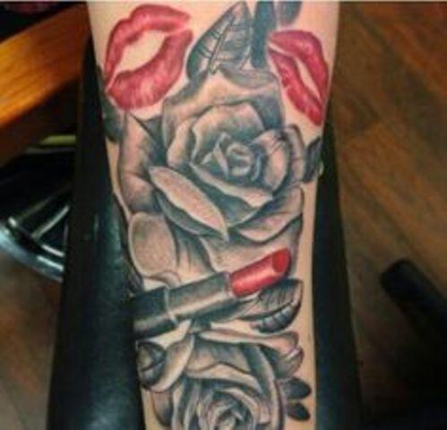 besos 4 - Tatuajes de labios
