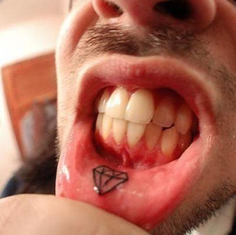 en los labios 6 - Tatuajes de labios