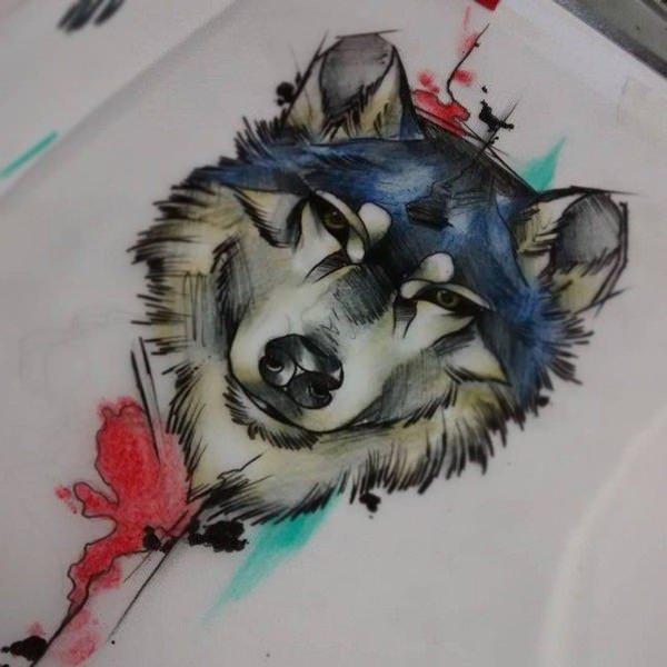 lobo tattoo 4