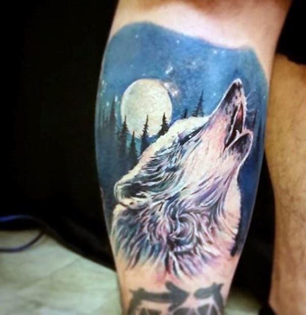 lobo tattoo 6