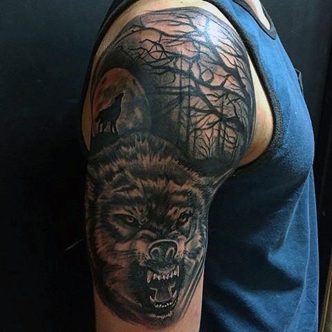 lobo tatuaje significado 1