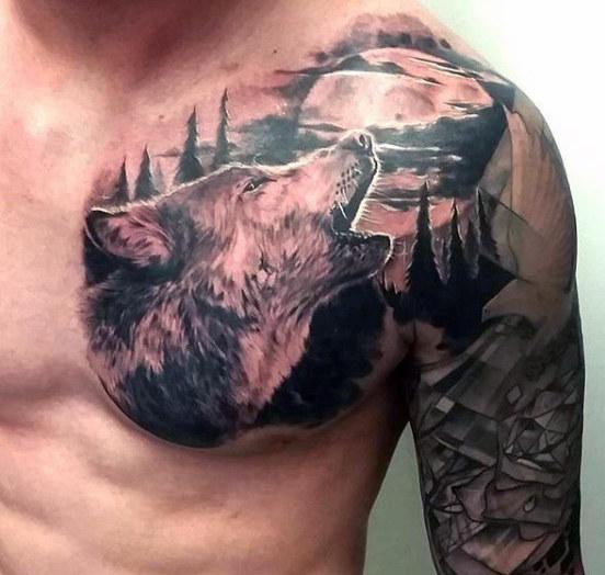 significado de lobo tatuaje 1
