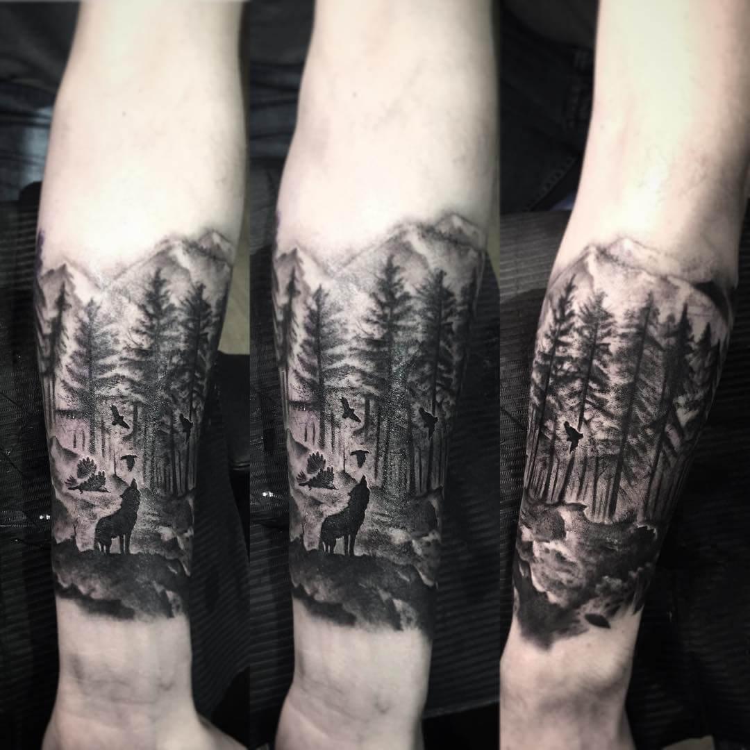 tattoo lobo salvaje significados 1 - tatuajes de lobos