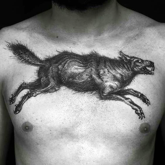 tattoo lobo salvaje significados 4