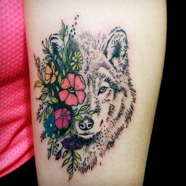 tatuajes de un lobo 5