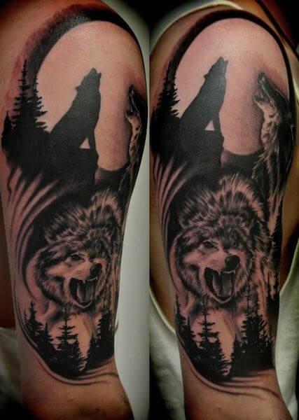 tauajes lobos luna 1