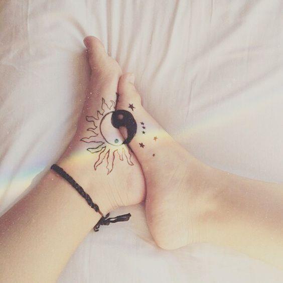 amigas hermanas 3 - Tatuajes para amigas