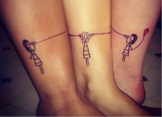 amigas hermanas 6 - Tatuajes para amigas