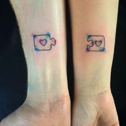 amigas hermanas - Tatuajes para amigas