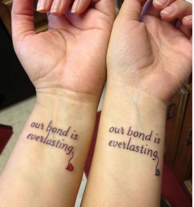amigas para siempre - Tatuajes para amigas