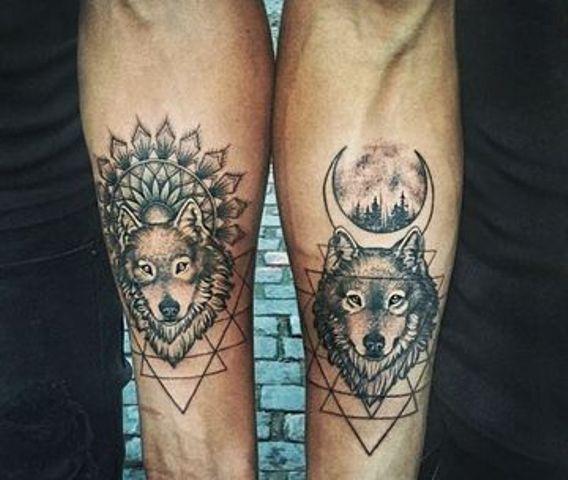 amigos hombres - Tatuajes para amigas