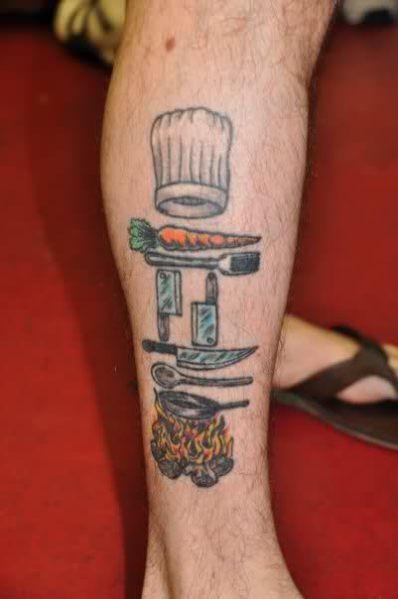 de cocina originales 1 - tatuajes originales