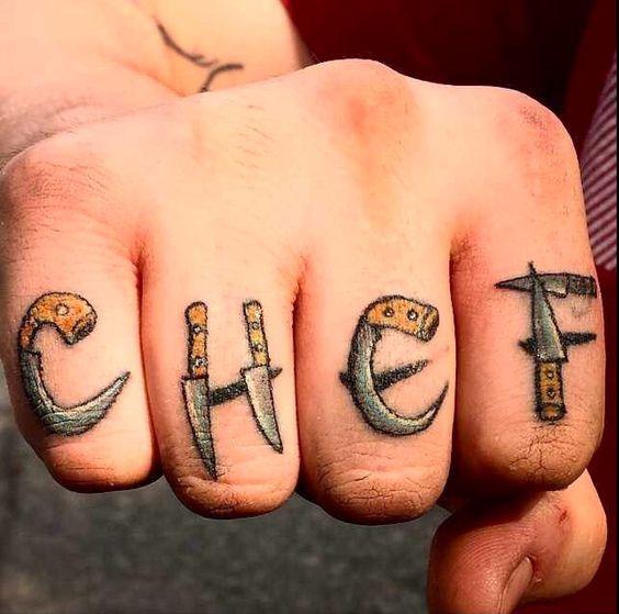 de cocina originales 3 - tatuajes originales
