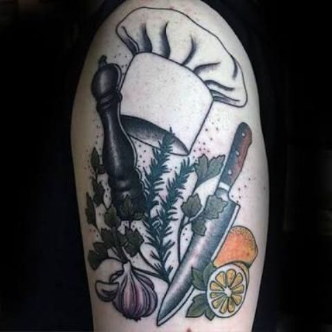 de cocina originales 4 - tatuajes originales
