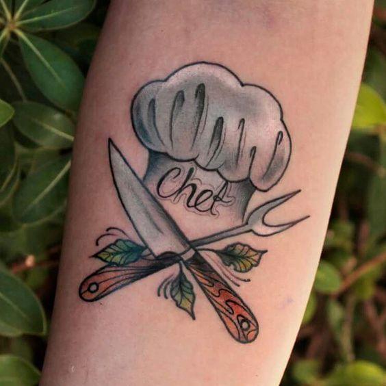 de cocina originales 5 - tatuajes originales