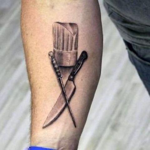 de cocina originales 6 - tatuajes originales