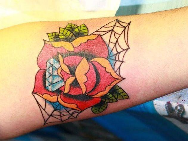 diamantes con rosas 4