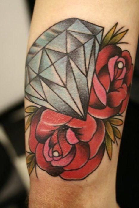 diamantes con rosas 5
