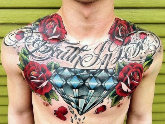 diamantes con rosas 6