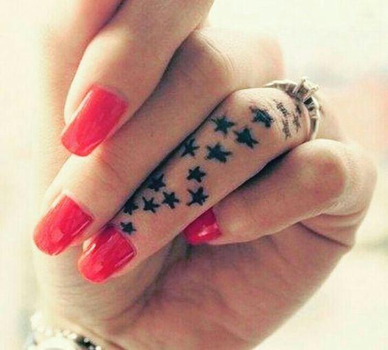en la mano estrellas 6