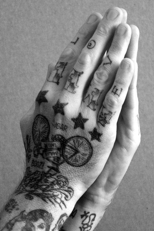 en la mano estrellas 7