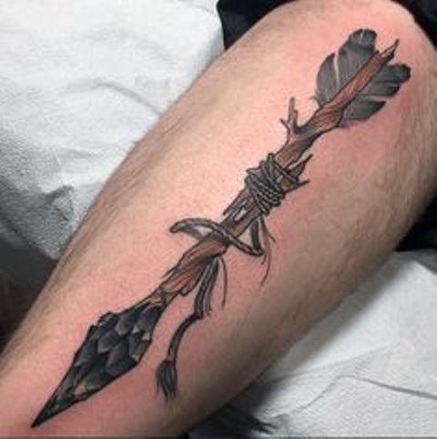 flechas antiguas - tatuajes de flechas