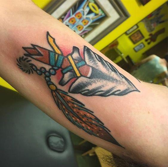 flechas indias - tatuajes de flechas