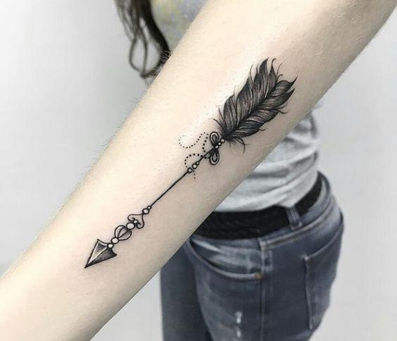 flechas para mujeres 7 - tatuajes de flechas