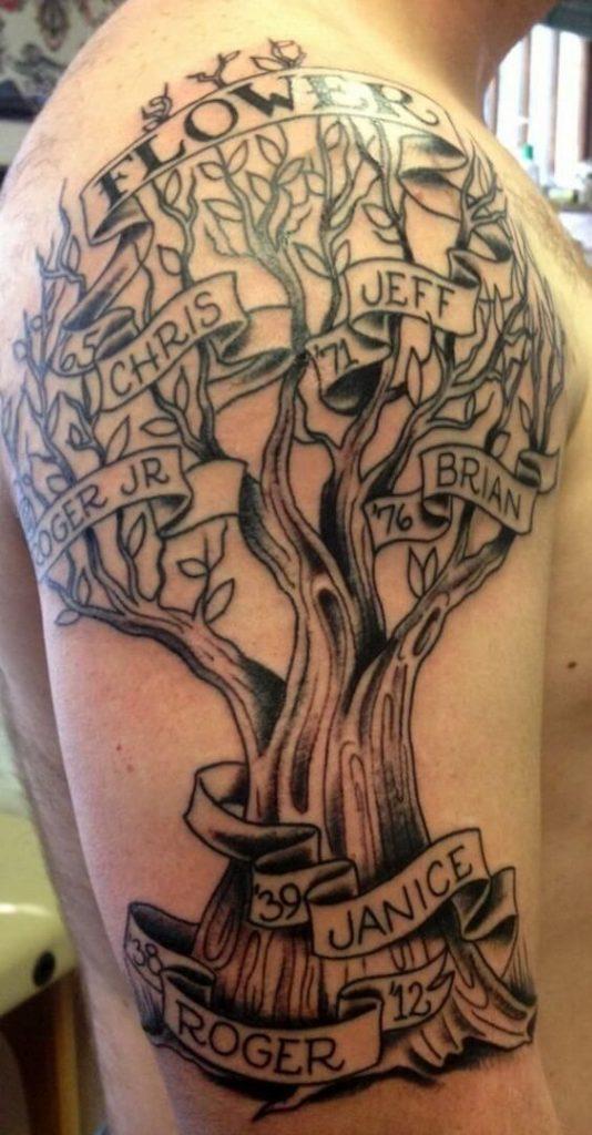 genealogico 1 - tatuajes de árboles