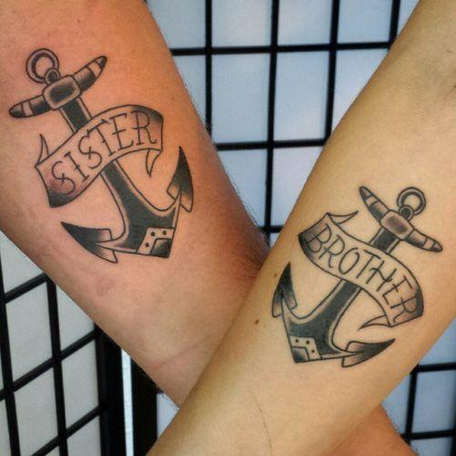 hermana y hermanp. jpg 1 - tatuajes para hermanas