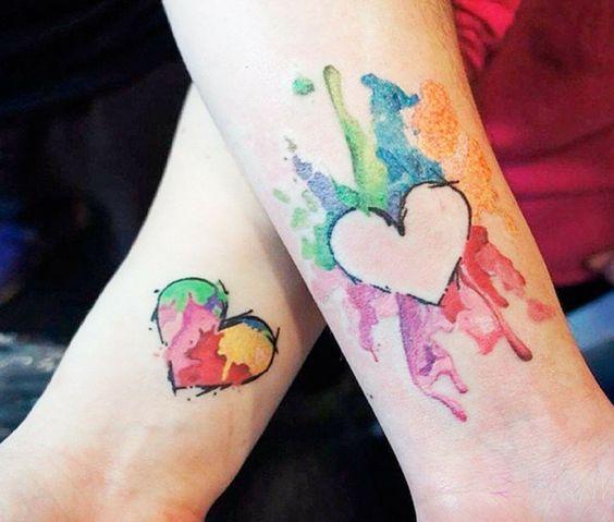 hermanas bonitos 1 - tatuajes para hermanas