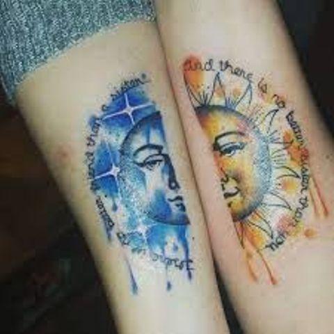 hermanas bonitos 5 - tatuajes para hermanas