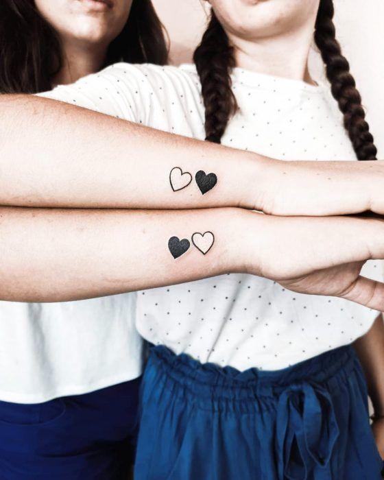 hermanas bonitos 6 - tatuajes para hermanas