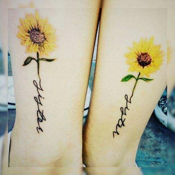 hermanas mujeres - tatuajes para hermanas