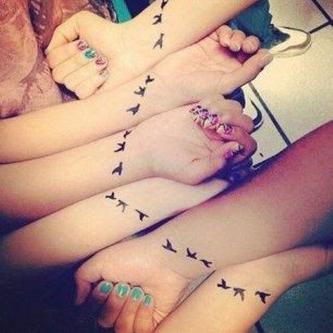 hermanas originales 3 - tatuajes para hermanas