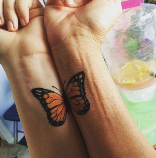 hermanas originales - tatuajes para hermanas