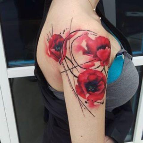 hombro flores 3