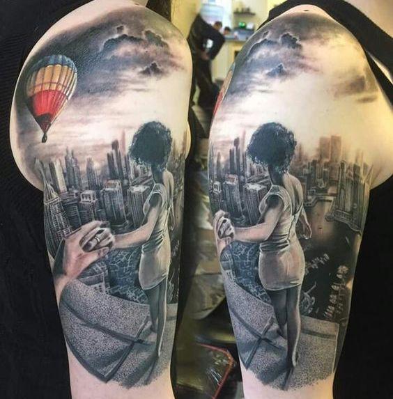 hombro y brazo