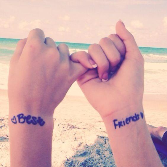 mejores amigas 3 - Tatuajes para amigas