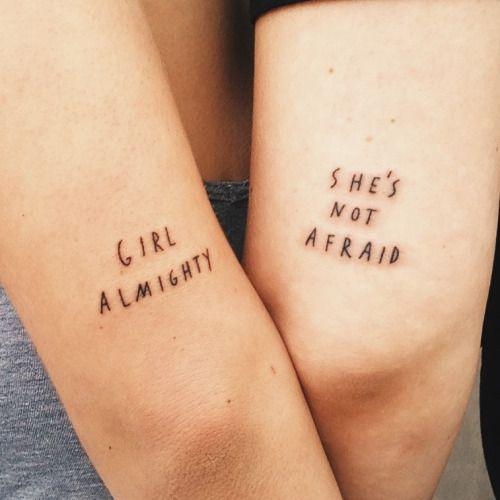 mejores amigas 5 - Tatuajes para amigas