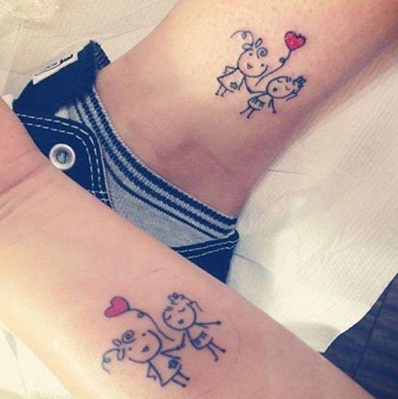 mejores amigas 8 - Tatuajes para amigas