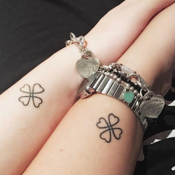mejores amigas 9 - Tatuajes para amigas