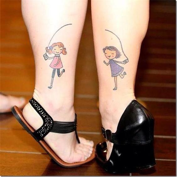 originales de amistad 5 - tatuajes originales