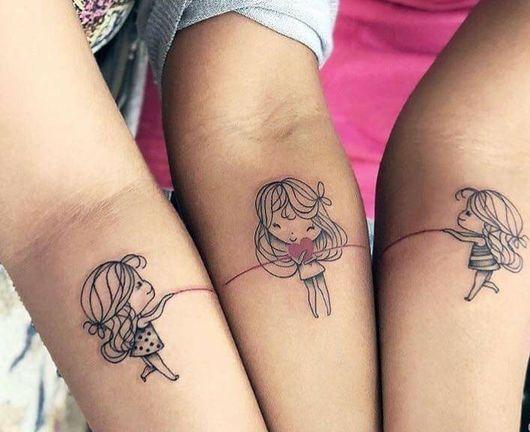 para 3 hermanas 3 1 - tatuajes para hermanas